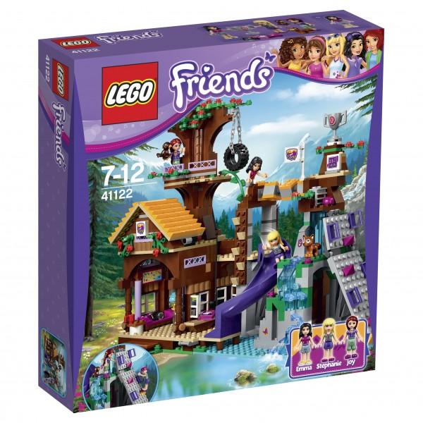 LEGO® Friends 41122 Abenteuercamp Baumhaus