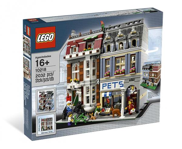 LEGO® 10218 Zoohandlung