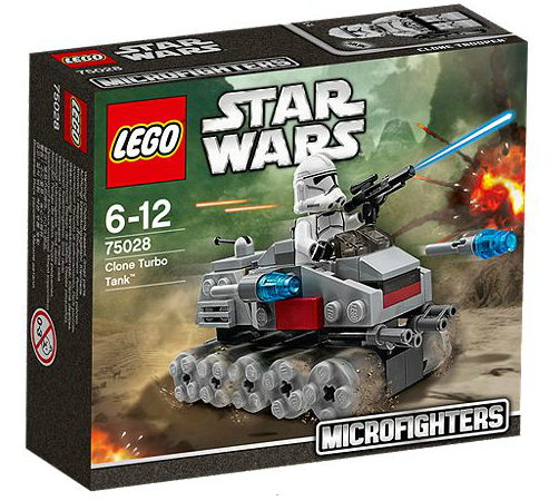 LEGO® Starwars 75028 Clone Turbo Tank