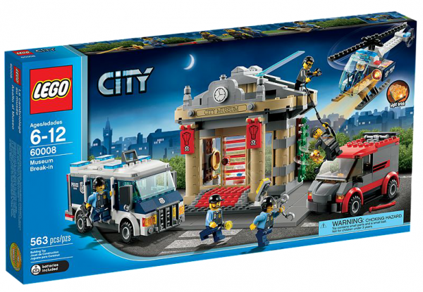 LEGO® CITY 60008 Museums-Raub