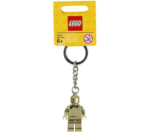 LEGO® 850807 Goldene Minifigur-Schlüsselanhänger