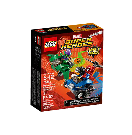 LEGO® Marvel Super Heroes 76064 Mighty Micros: Spider-Man vs. Green Goblin