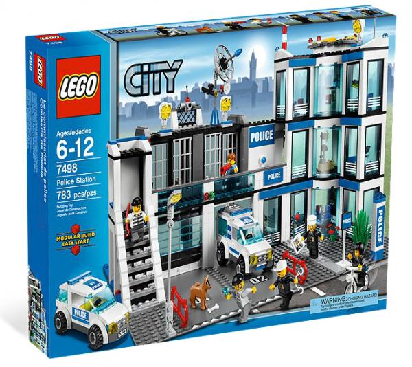 LEGO® CITY 7498 Polizeistation