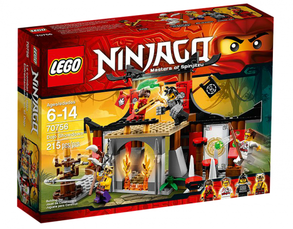 LEGO® Ninjago 70756 Finale im Dojo