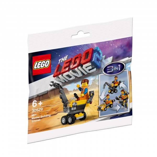 LEGO® Movie 2 - 30529 Mini-Baumeister Emmet