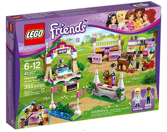 LEGO® Friends 41057 Die große Pferdeschau