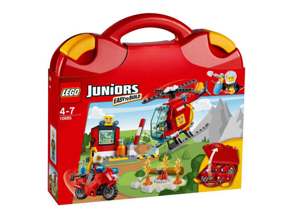 LEGO® Juniors 10685 Feuerwehr-Koffer