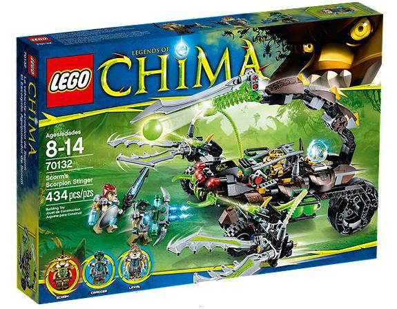 LEGO® Chima 70132 Scorms Skorpionstachel
