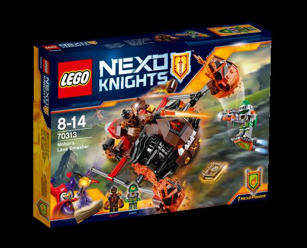 LEGO® Nexo Knights 70313 Moltors Lava-Werfer