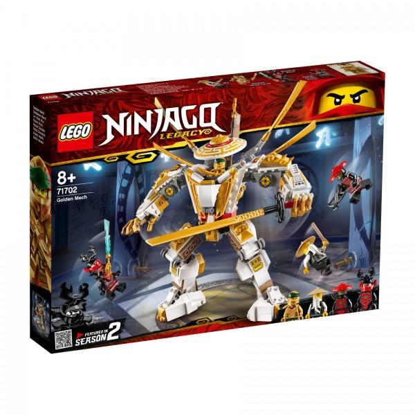 LEGO® NINJAGO® 71702 Goldener Mech