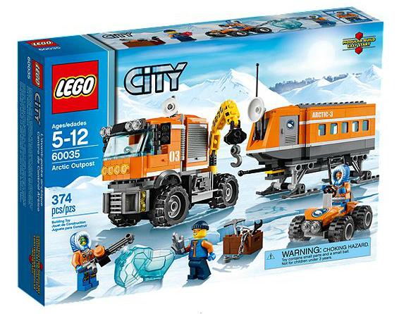 LEGO® CITY 60035 Arktis-Truck