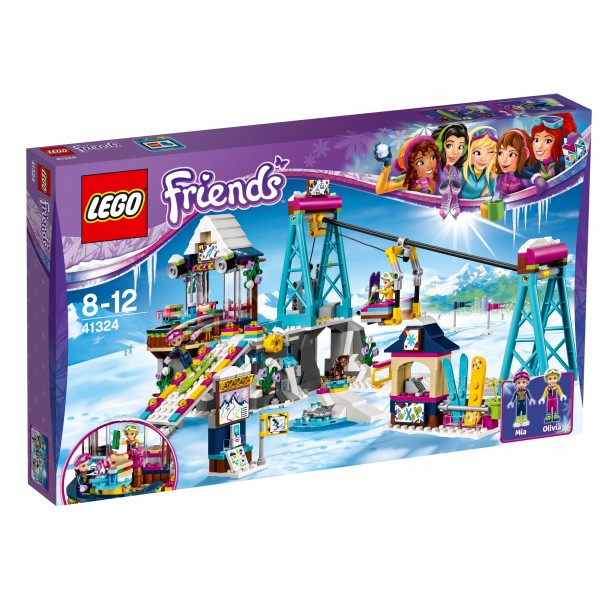 LEGO® Friends 41324 Skilift im Wintersportort