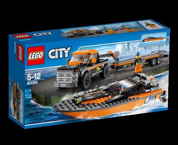 LEGO® CITY 60085 Allradfahrzeug mit Powerboot