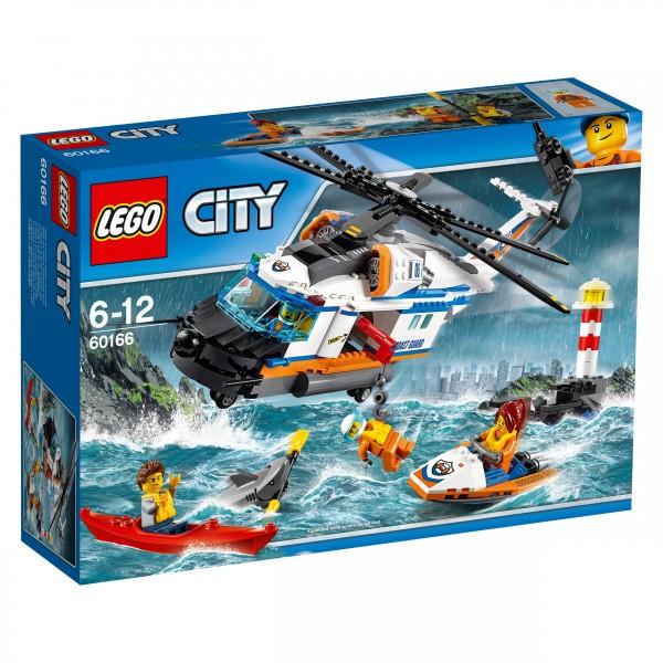 LEGO® CITY 60166 Seenot-Rettungshubschrauber