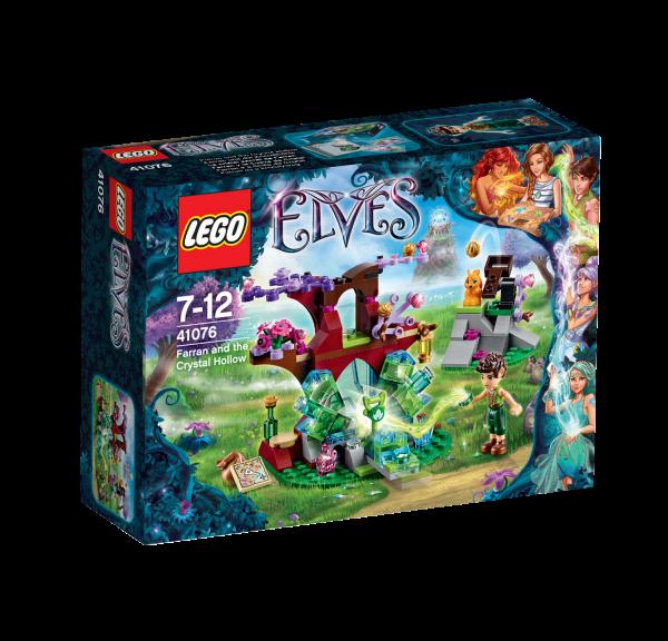 LEGO® Elves 41076 Farran und die Kristallhöhle