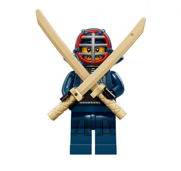 LEGO® Minifiguren Serie 15 - Kendo-Kämpfer 71011-12