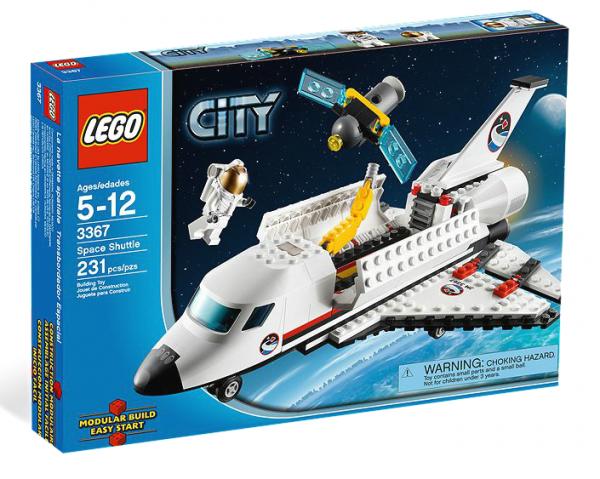 LEGO® CITY 3367 Space Shuttle