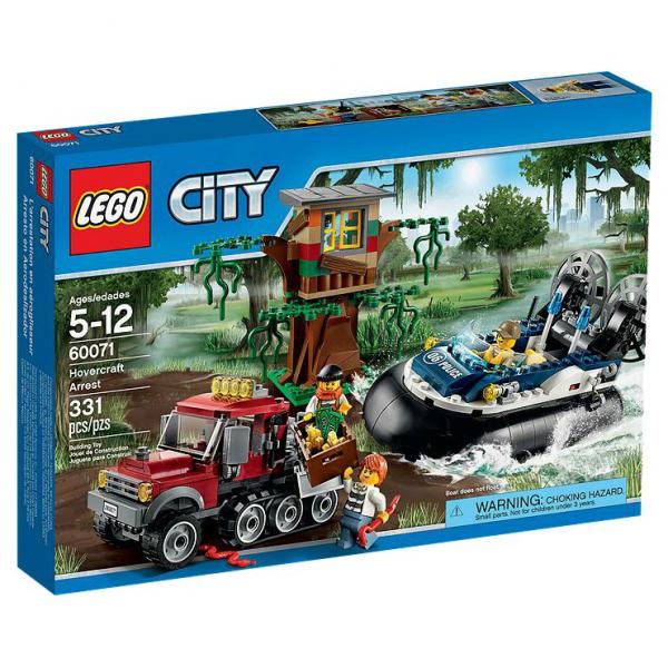 LEGO® CITY 60071 Verbrecherjagd im Luftkissenboot