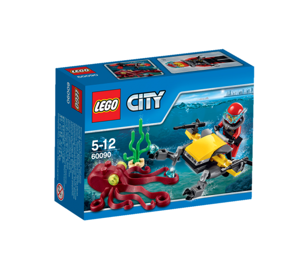 LEGO® CITY 60090 Tiefsee-Tauchscooter
