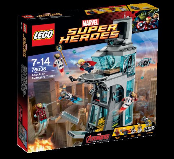 LEGO® Marvel Super Heroes 76038 Überfall auf den Avengers Tower