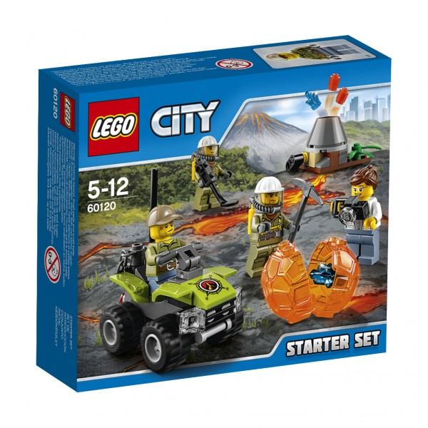 LEGO® CITY 60120 Vulkan Starter-Set