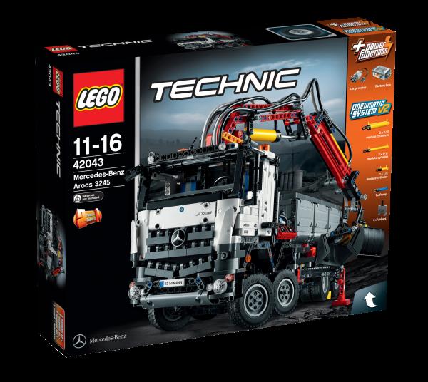 LEGO® Technic 42043 Mercedes-Benz Arocs 3245