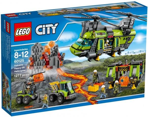 LEGO® CITY 60125 Vulkan-Schwerlasthelikopter