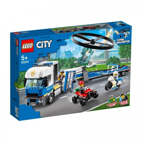 LEGO® CITY 60244 Polizeihubschrauber-Transport