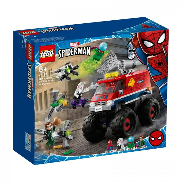 LEGO® Marvel Super Heroes™ 76174 Spider-Mans Monstertruck vs. Mysterio