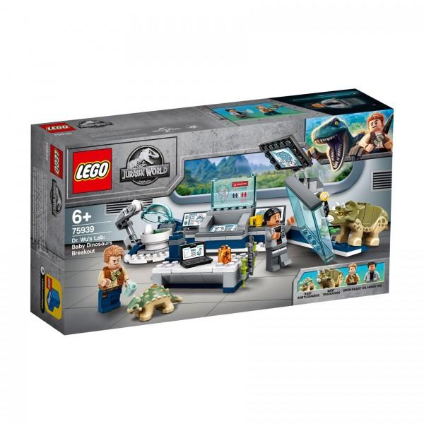 LEGO® Jurassic World 75939 Dr. Wus Labor: Ausbruch der Baby-Dinosaurier