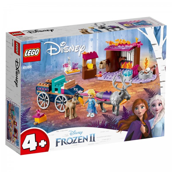 LEGO® Disney Frozen 41166 Elsa und die Rentierkutsche