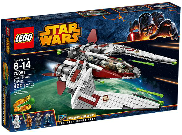 LEGO® Star Wars 75051 Jedi Scout Fighter