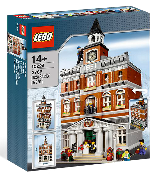 LEGO® 10224 Creator Exclusives - Rathaus