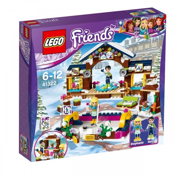 LEGO® Friends 41322 Eislaufplatz im Wintersportort