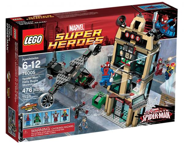 LEGO® Marvel Super Heroes 76005 Spider-Man™: Einsatz am Daily Bugle