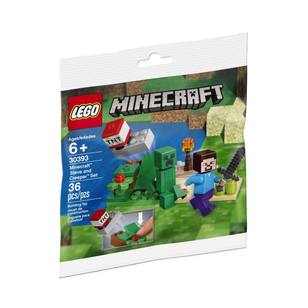 LEGO® Minecraft™ 30393 Steve and Creeper