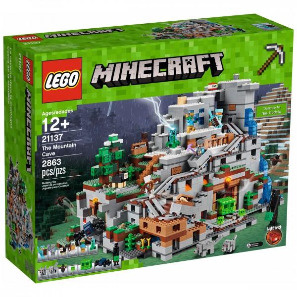 LEGO® Minecraft 21137 Die Berghöhle