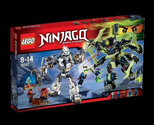 LEGO® Ninjago 70737 Titanroboter gegen Mech-enstein