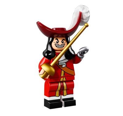 LEGO® Disney Minifiguren Serie 1 - Captain Hook 71012-16