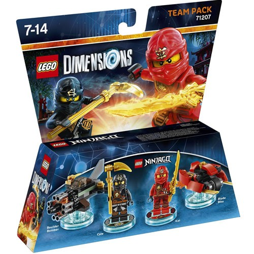LEGO® Dimensions 71207 Team Pack Ninjago