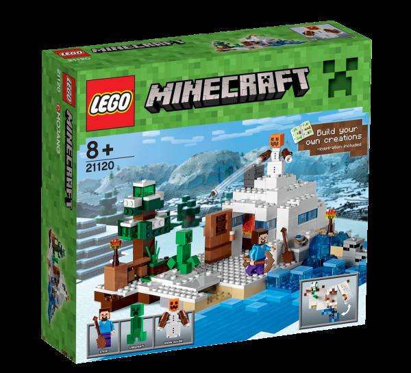 LEGO® Minecraft 21120 Das Versteck im Schnee