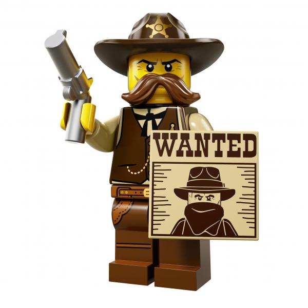 LEGO® Minifiguren Serie 13 - Sheriff 71008-02