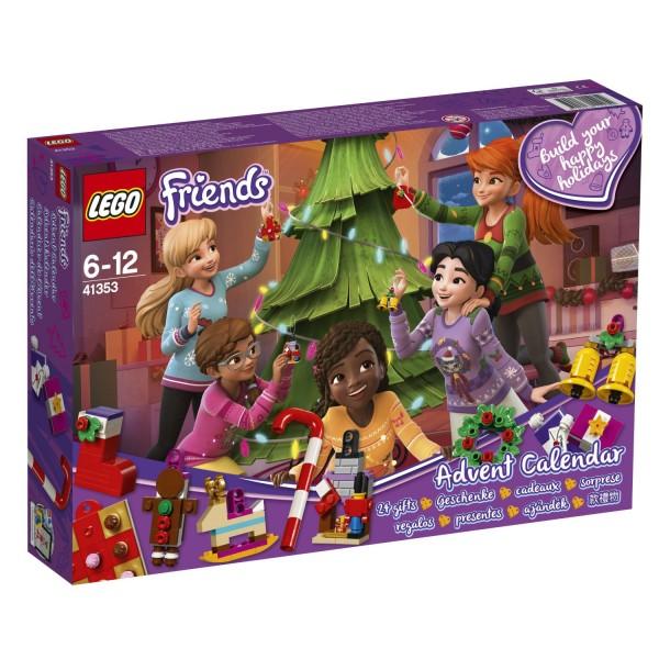 LEGO® Friends 41353 Adventskalender 2018 mit Weihnachtsschmuck