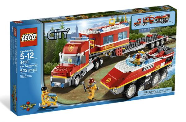 LEGO® CITY 4430 Mobile Feuerwehrzentrale