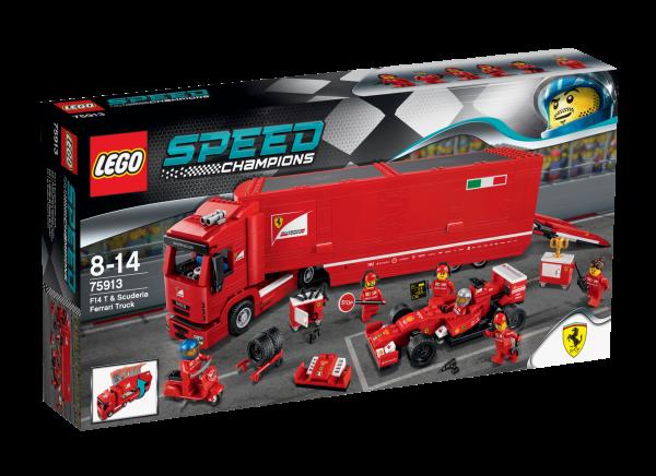 LEGO® Speed Champions 75913 F14 T & Scuderia Ferrari Truck