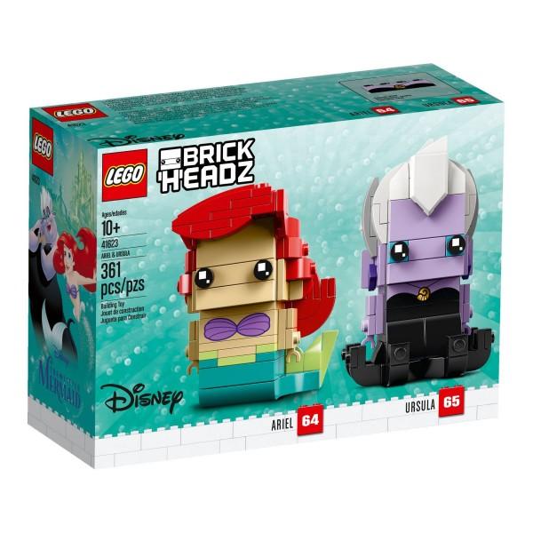 LEGO® BrickHeadz 41623 Arielle & Ursula