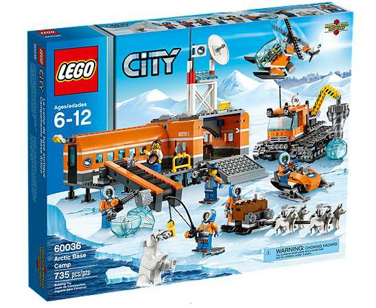 LEGO® CITY 60036 Arktis-Basislager