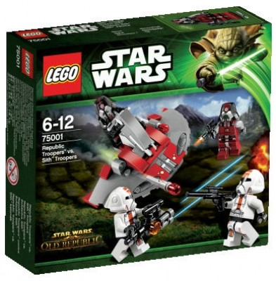 LEGO® Starwars 75001 Republic Troopers™ vs. Sith™ Troopers
