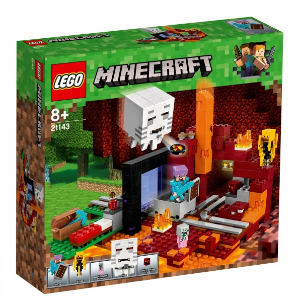LEGO® Minecraft 21143 Netherportal