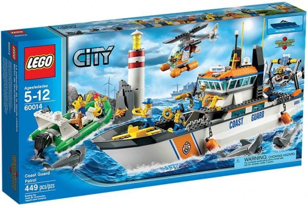 LEGO® CITY 60014 Einsatz für die Küstenwache